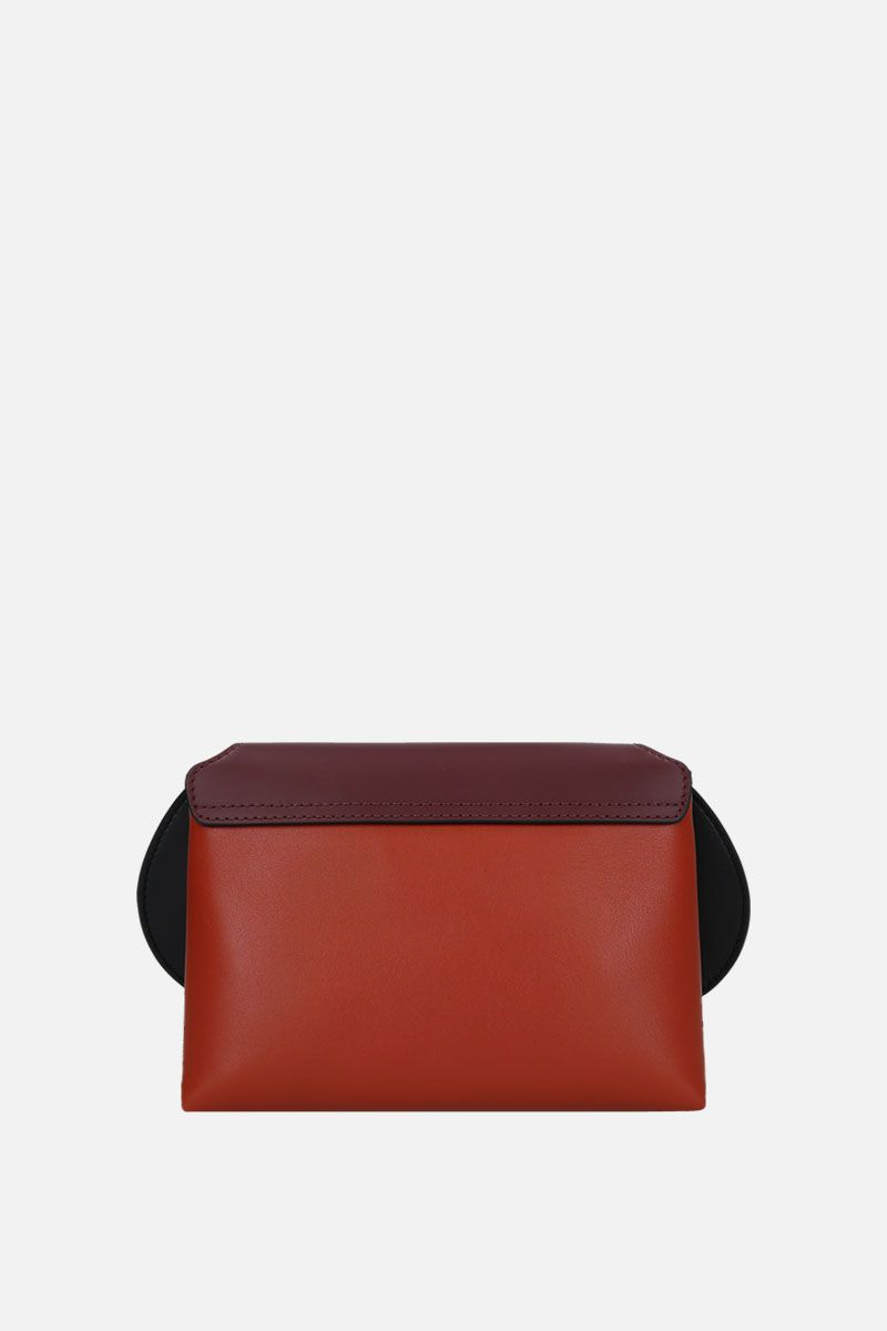 SMYTHSON: Pillow crossbody bag in smooth leather Color Red_3