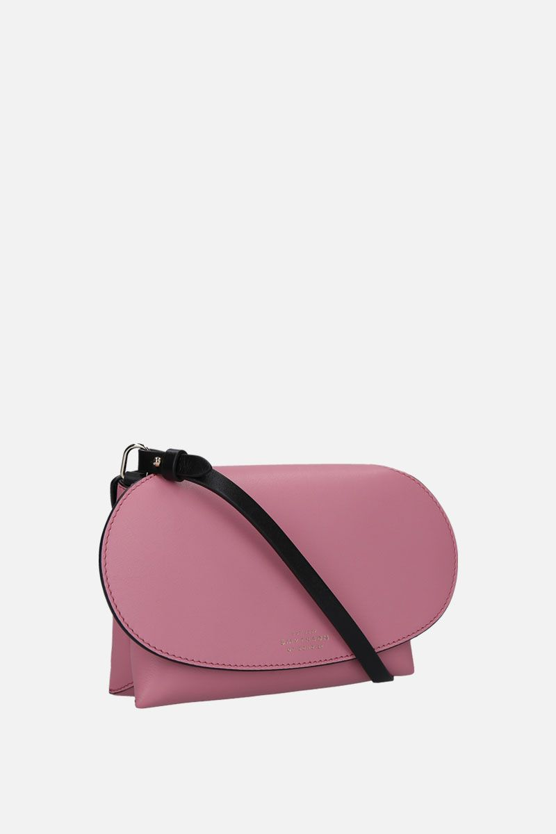 SMYTHSON: Pillow crossbody bag in smooth leather Color Pink_2