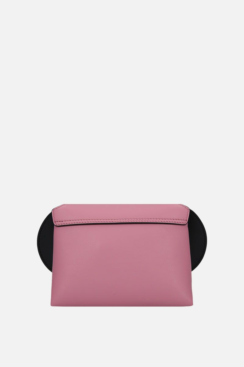 SMYTHSON: Pillow crossbody bag in smooth leather Color Pink_3