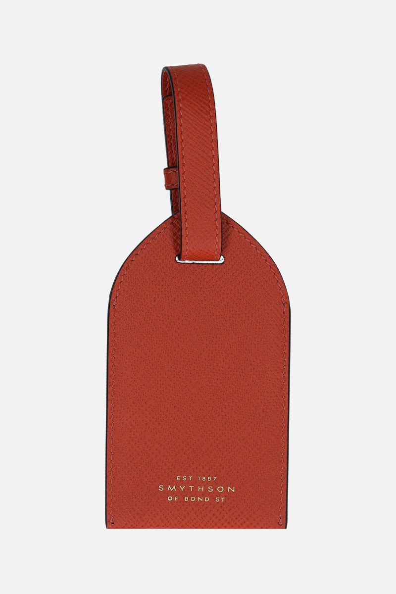 SMYTHSON: luggage tag Panama in pelle crossgrain_2