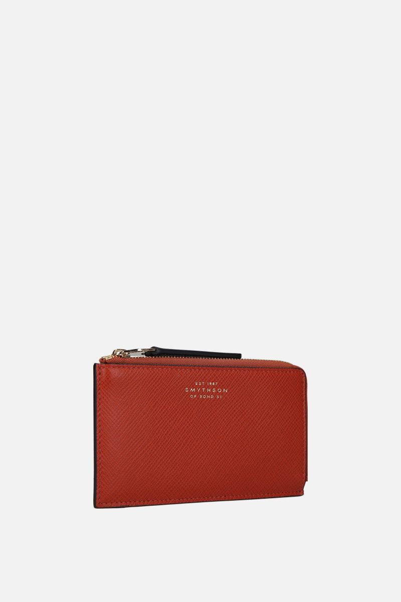 SMYTHSON: Panama coin purse in crossgrain leather_2