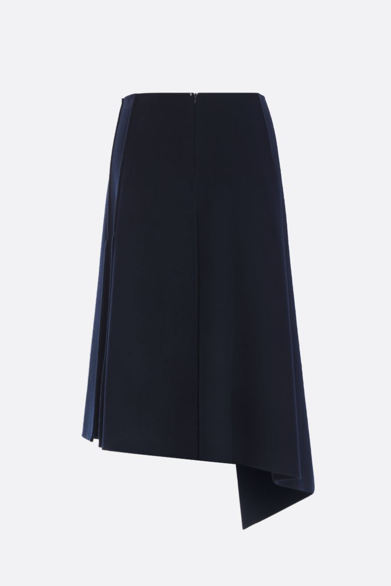 SPORTMAX: gonna midi Anania in lana Colore Blu_2