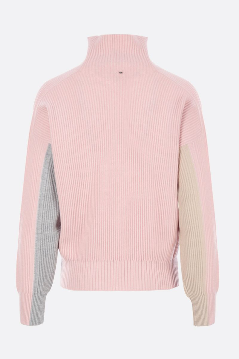 SPORTMAX: Locusta pullover in wool blend knit Color Pink_2