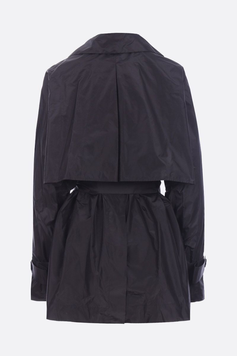 THE ROW: trench kimono Keera in seta Colore Nero_2