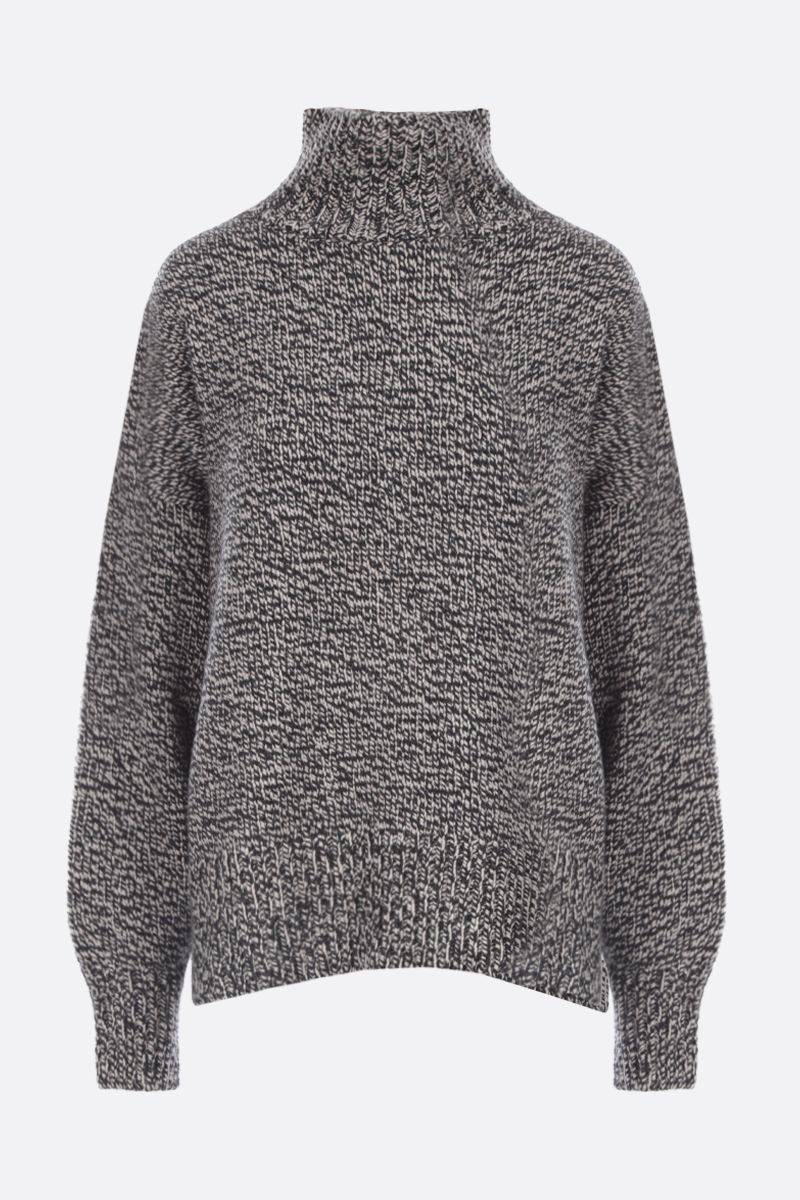 THE ROW: Pheliana cashmere oversized pullover Color Grey_1