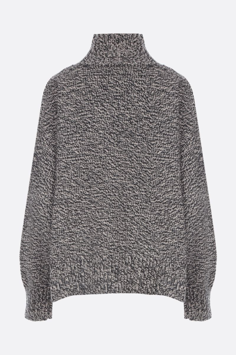 THE ROW: Pheliana cashmere oversized pullover Color Grey_2