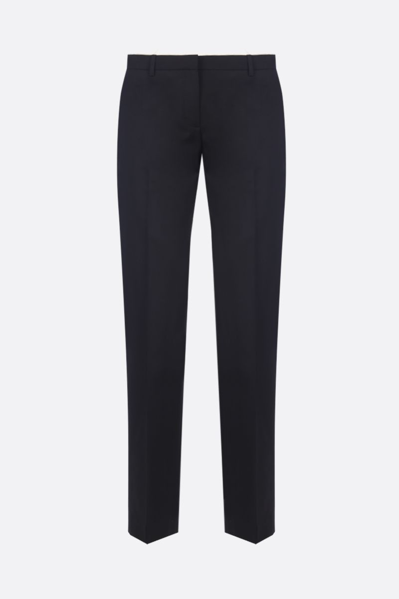 THEORY: stretch wool pants Color Black_1