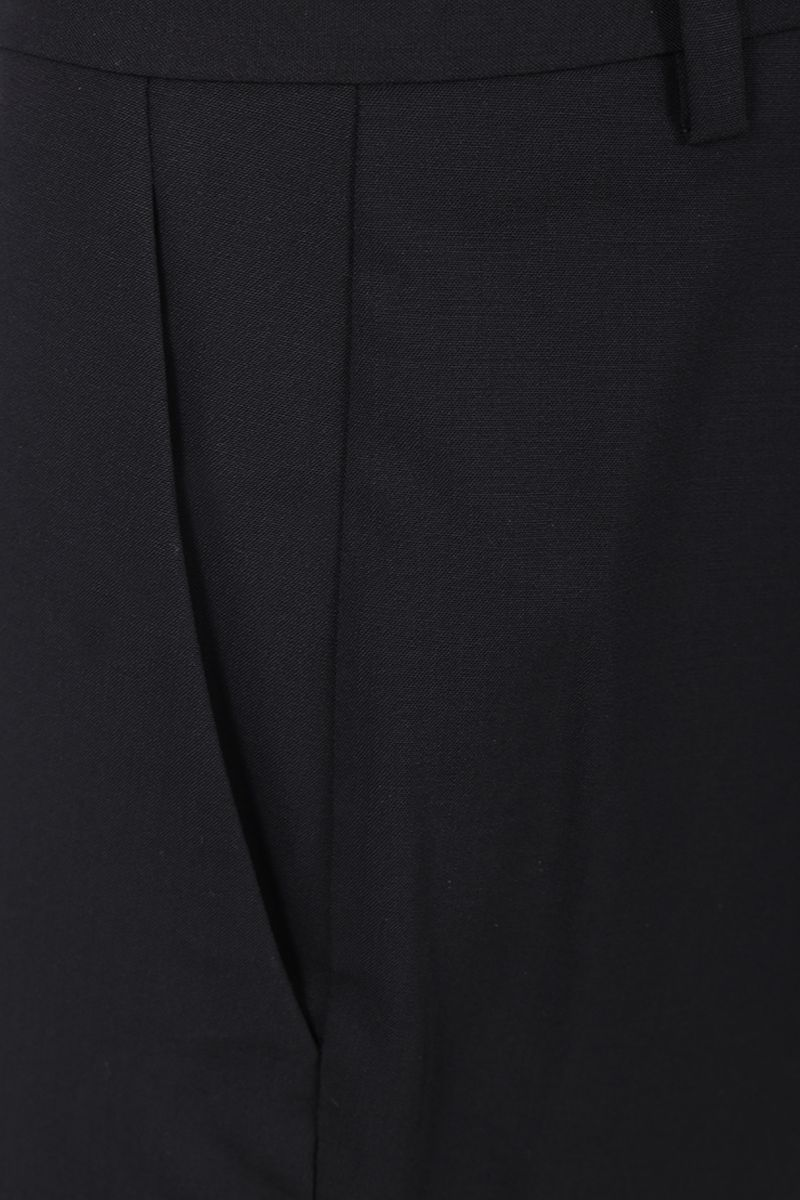 THEORY: stretch wool pants Color Black_3
