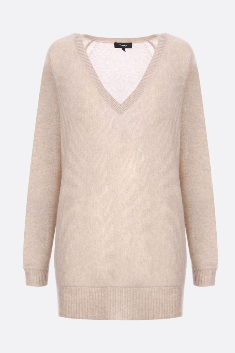 THEORY: pullover Dolman in cashmere Colore Neutro_1