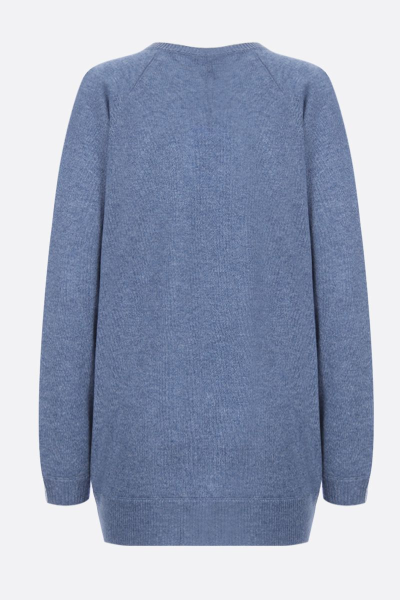 THEORY: pullover Dolman in cashmere Colore Blu_2
