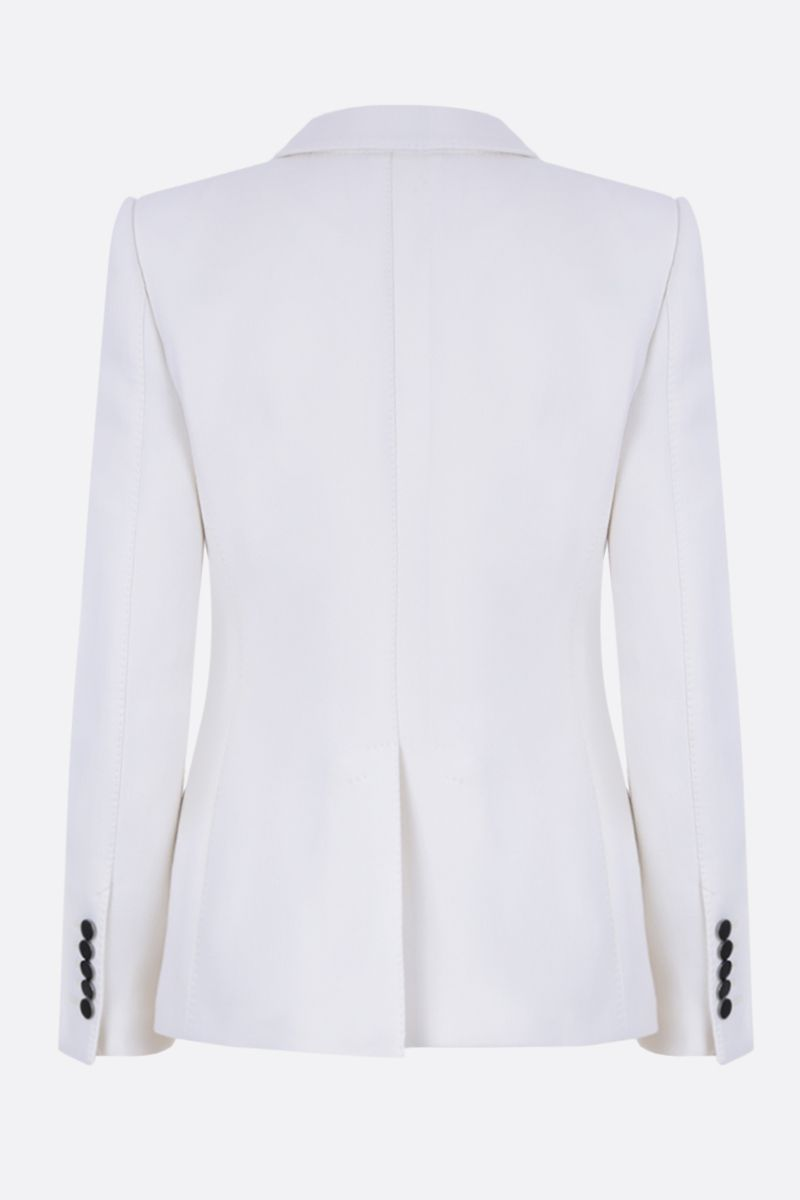 TOM FORD: single-breasted jacket in stretch wool Color Neutral_2