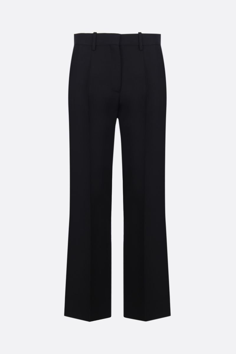 VALENTINO: Crepe Couture wide-leg pants Color Black_1