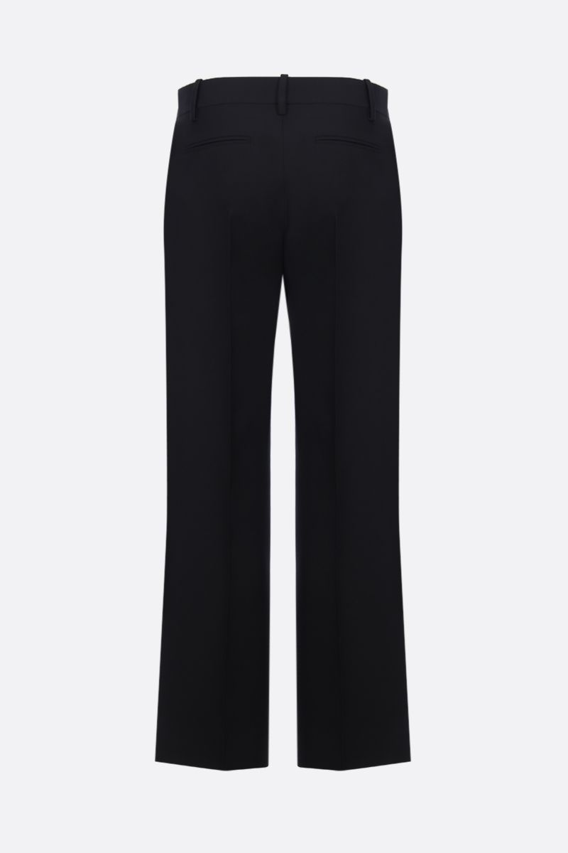 VALENTINO: Crepe Couture wide-leg pants Color Black_2