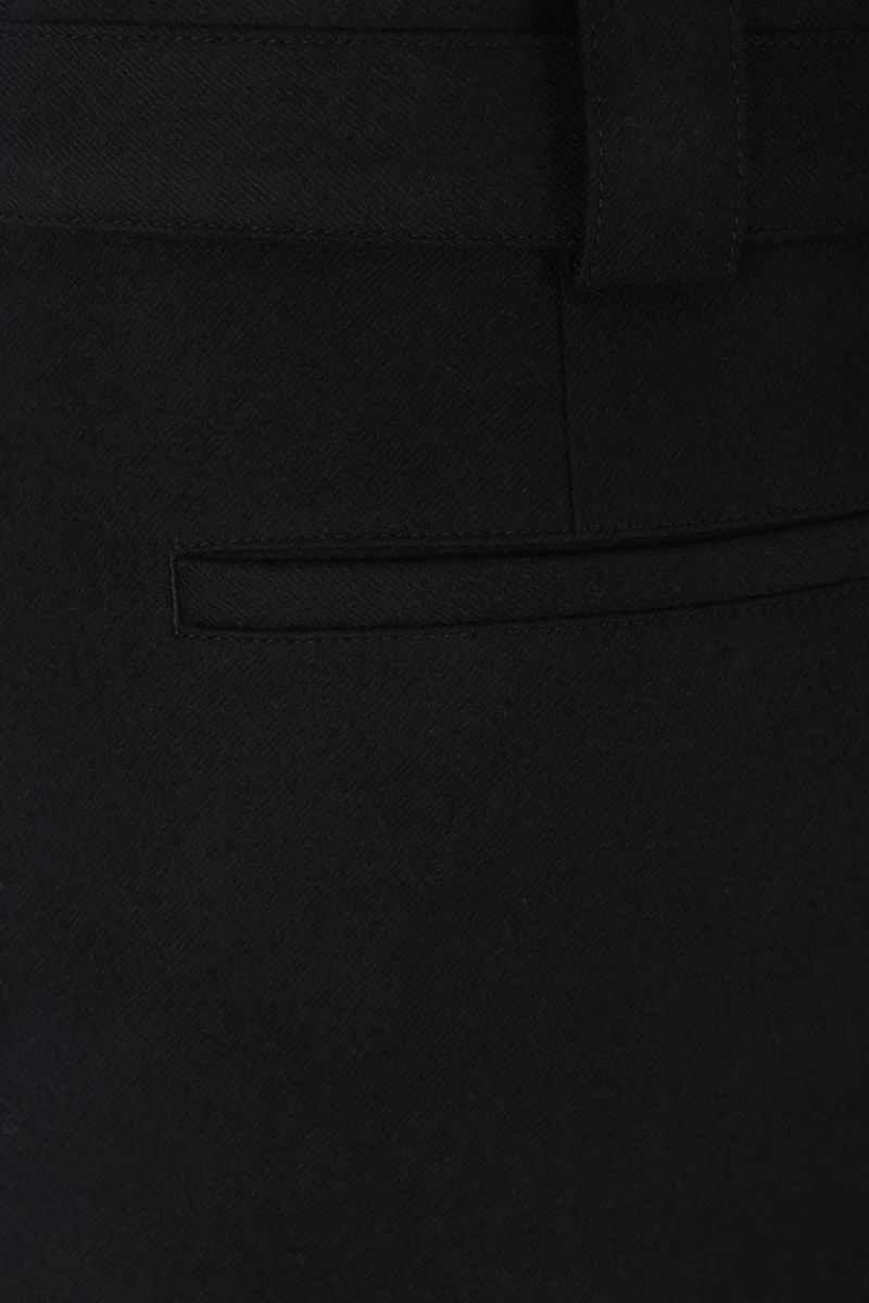 VALENTINO: regular-fit pants in stretch wool Color Black_4