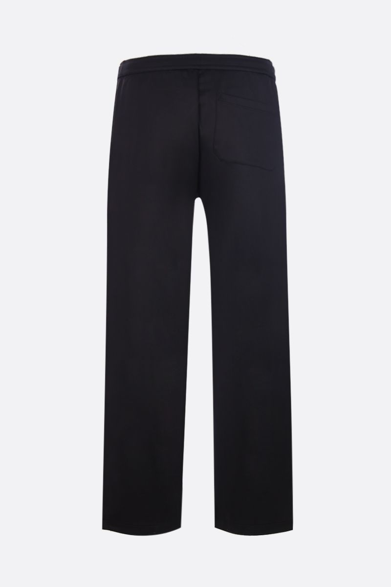 VALENTINO: VLTN Macrogrid technical jersey joggers Color Black_2