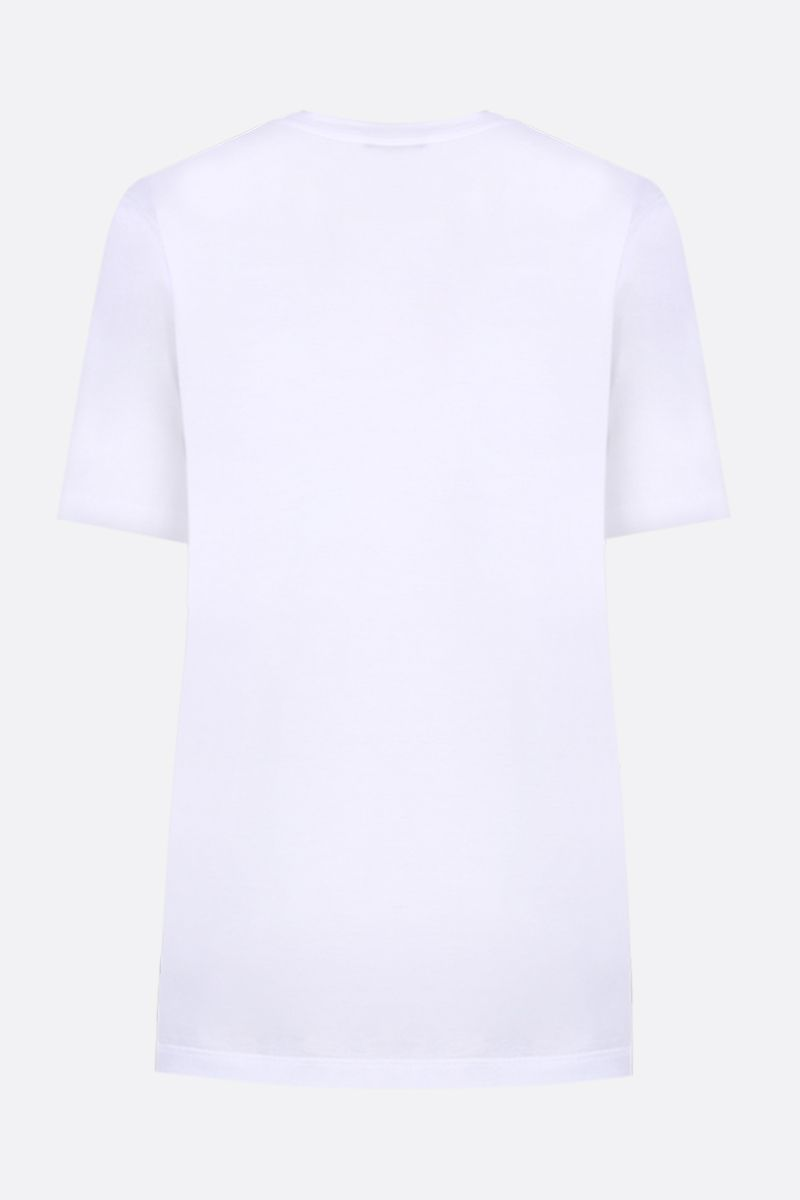 VERSACE: I Love NY print jersey t-shirt Color White_2