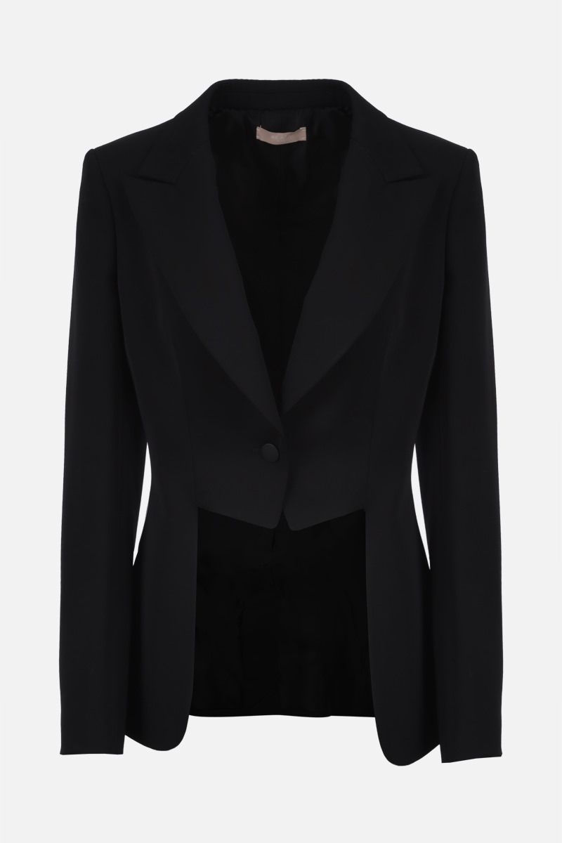 ALAIA: wool single-breasted jacket Color Black_1