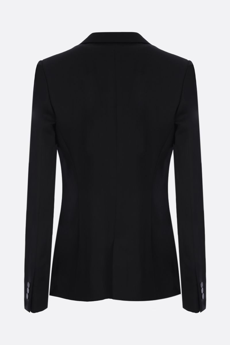 ALAIA: wool single-breasted jacket Color Black_2