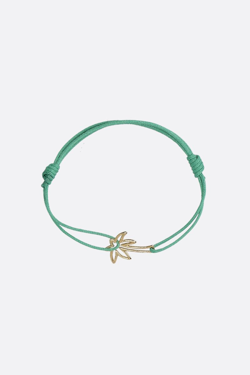 ALIITA: Palmera gold and cord bracelet Color Gold_1