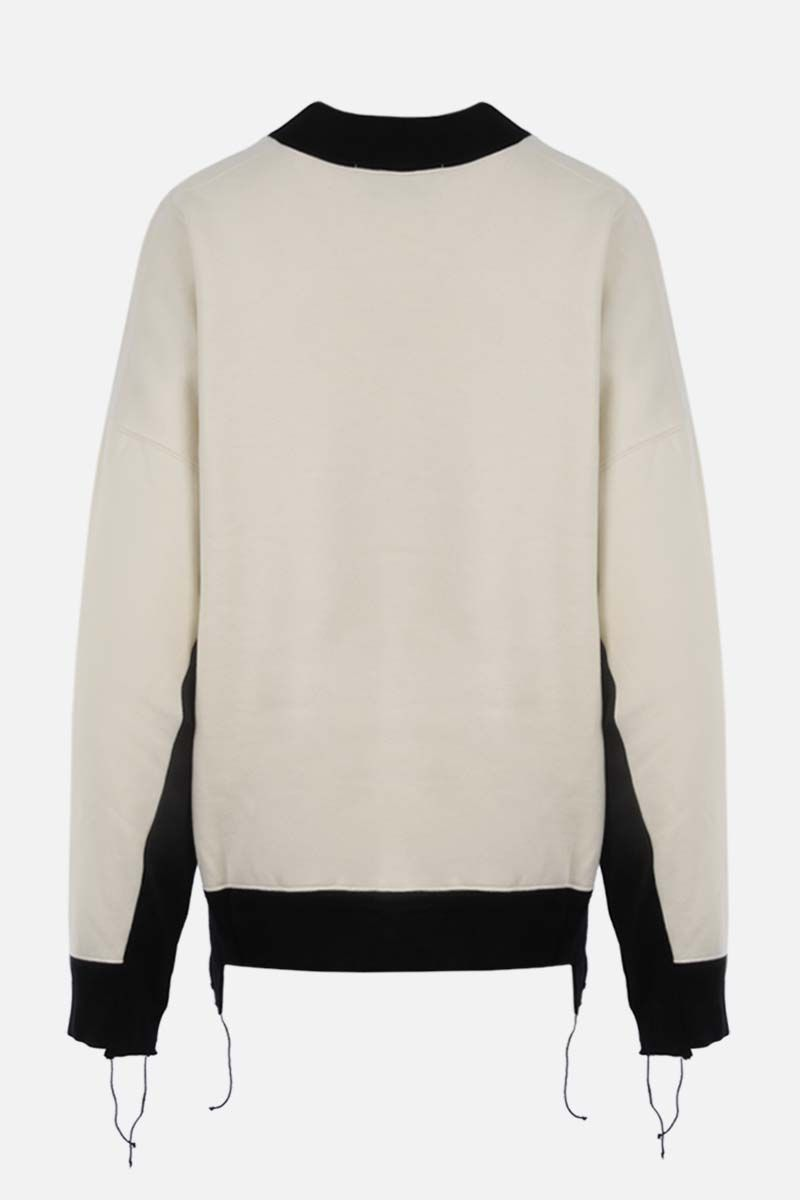 AMBUSH: Ambush print cotton blend sweatshirt Color White_2