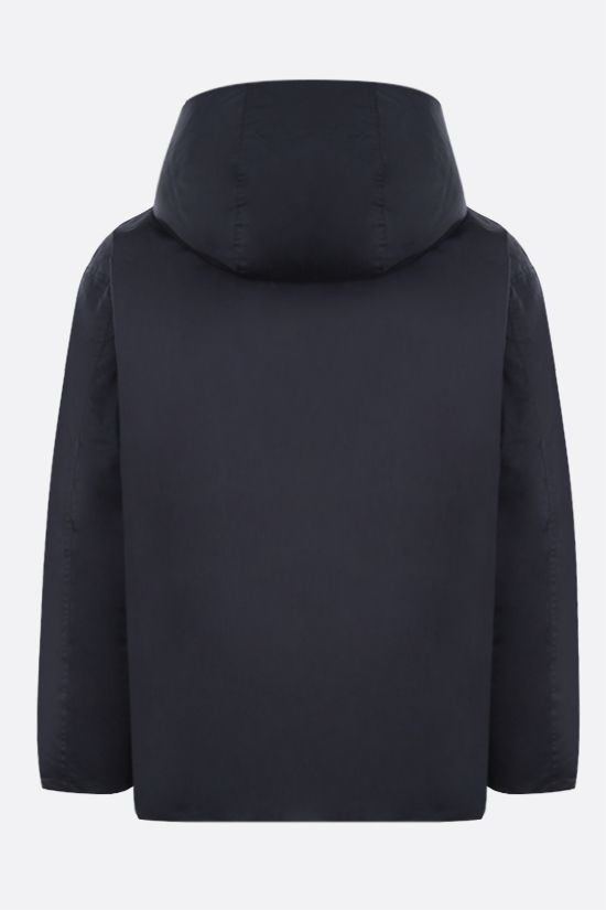 AMBUSH: technical canvas and nylon reversible down jacket Color Blue_2