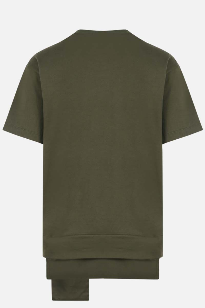 AMBUSH: Ambush® print cotton t-shirt Color Green_2