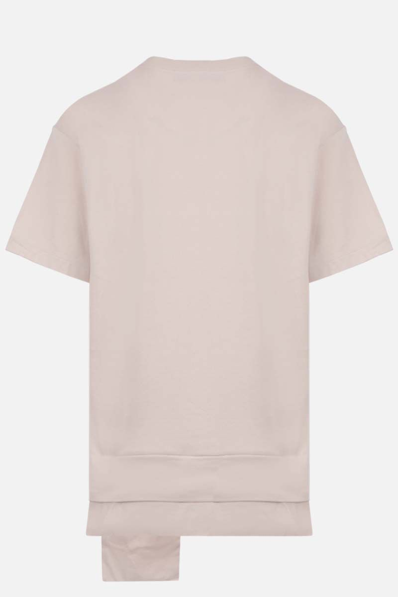 AMBUSH: Ambush® print cotton t-shirt Color Neutral_2