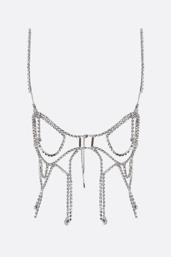 AREA: crystal butterfly net top Color Silver_2