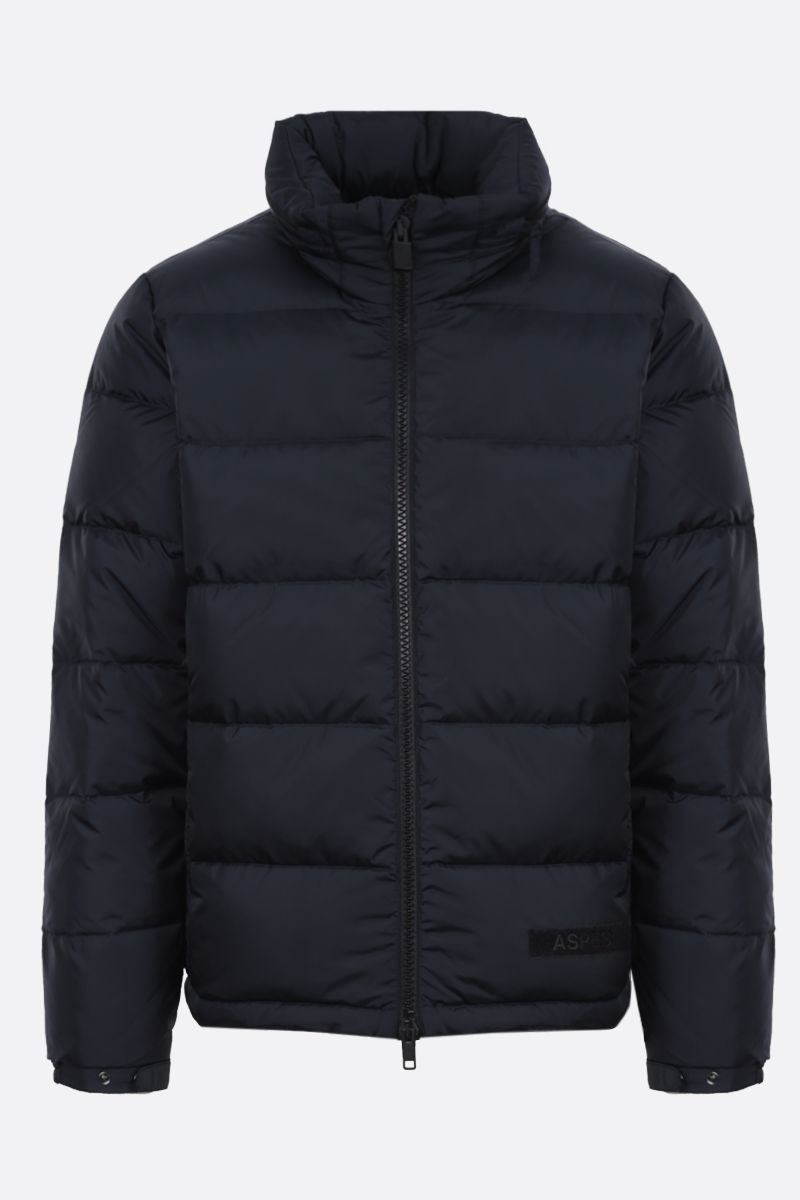 ASPESI: Poco nylon down jacket Color Blue_1