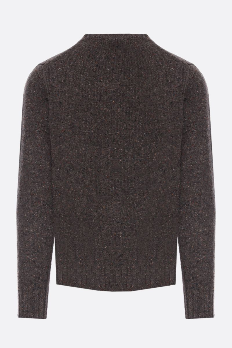 ASPESI: Donegal wool pullover Color Green_2