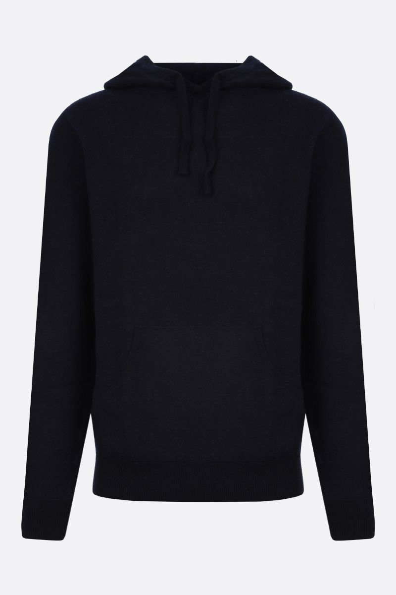 ASPESI: wool hooded pullover Color Blue_1