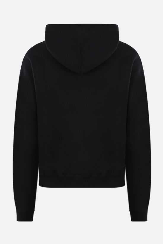 BALENCIAGA: Gym Wear print cotton hoodie Color Black_2