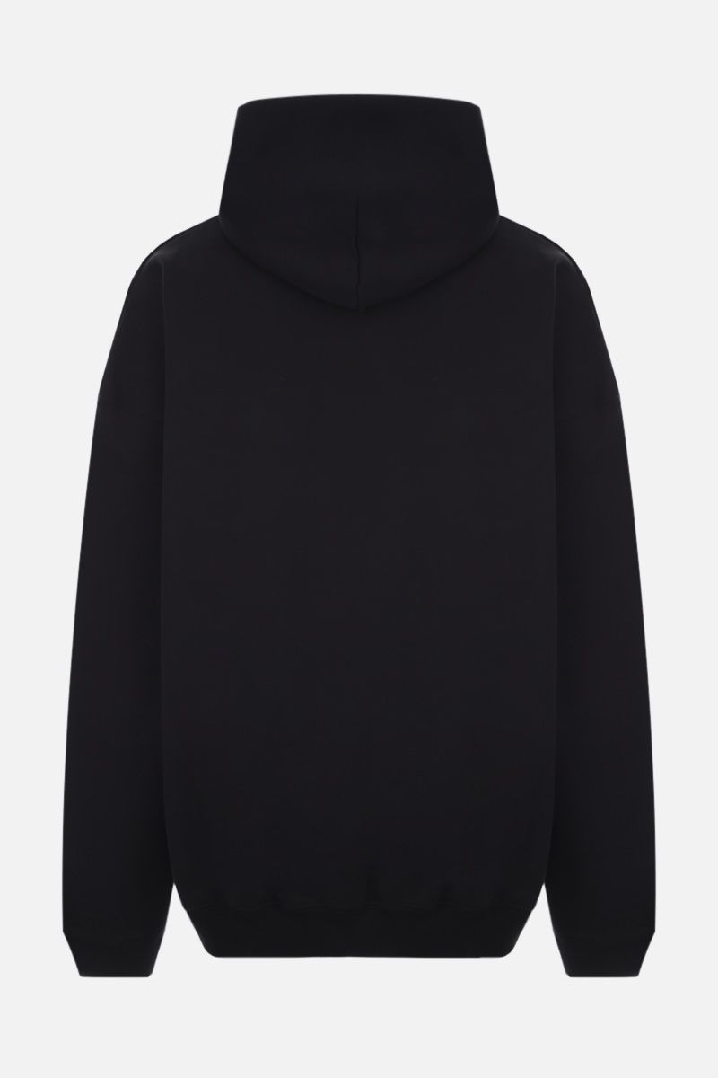 BALENCIAGA: Gym Wear cotton oversize hoodie Color Black_2