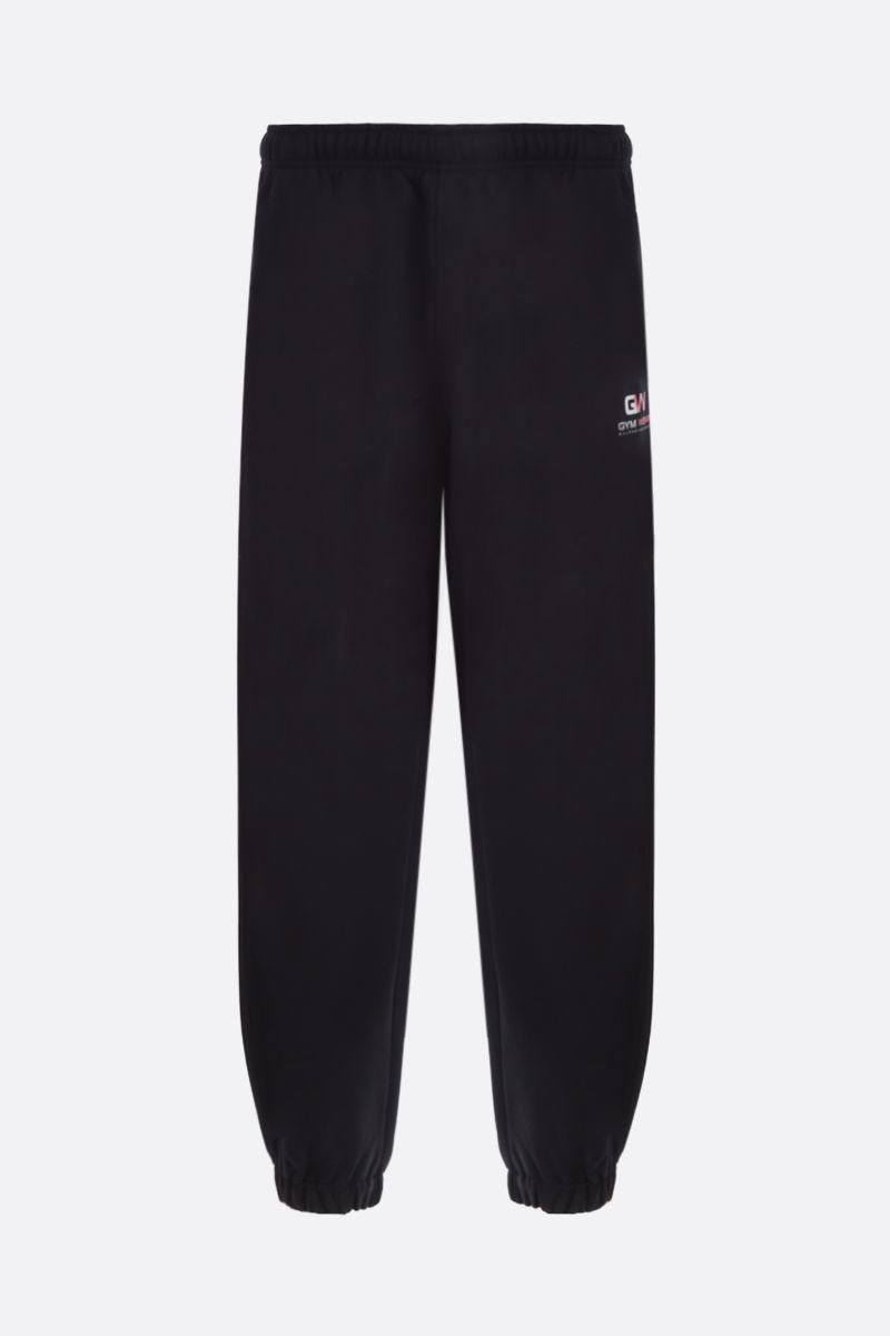 BALENCIAGA: Gym Wear cotton joggers Color Black_1