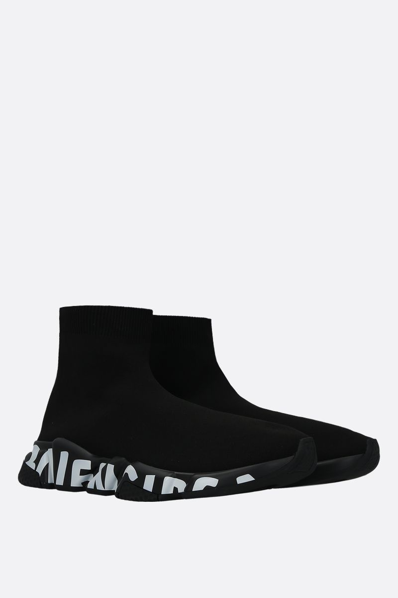 BALENCIAGA: Speed stretch knit trainers_2