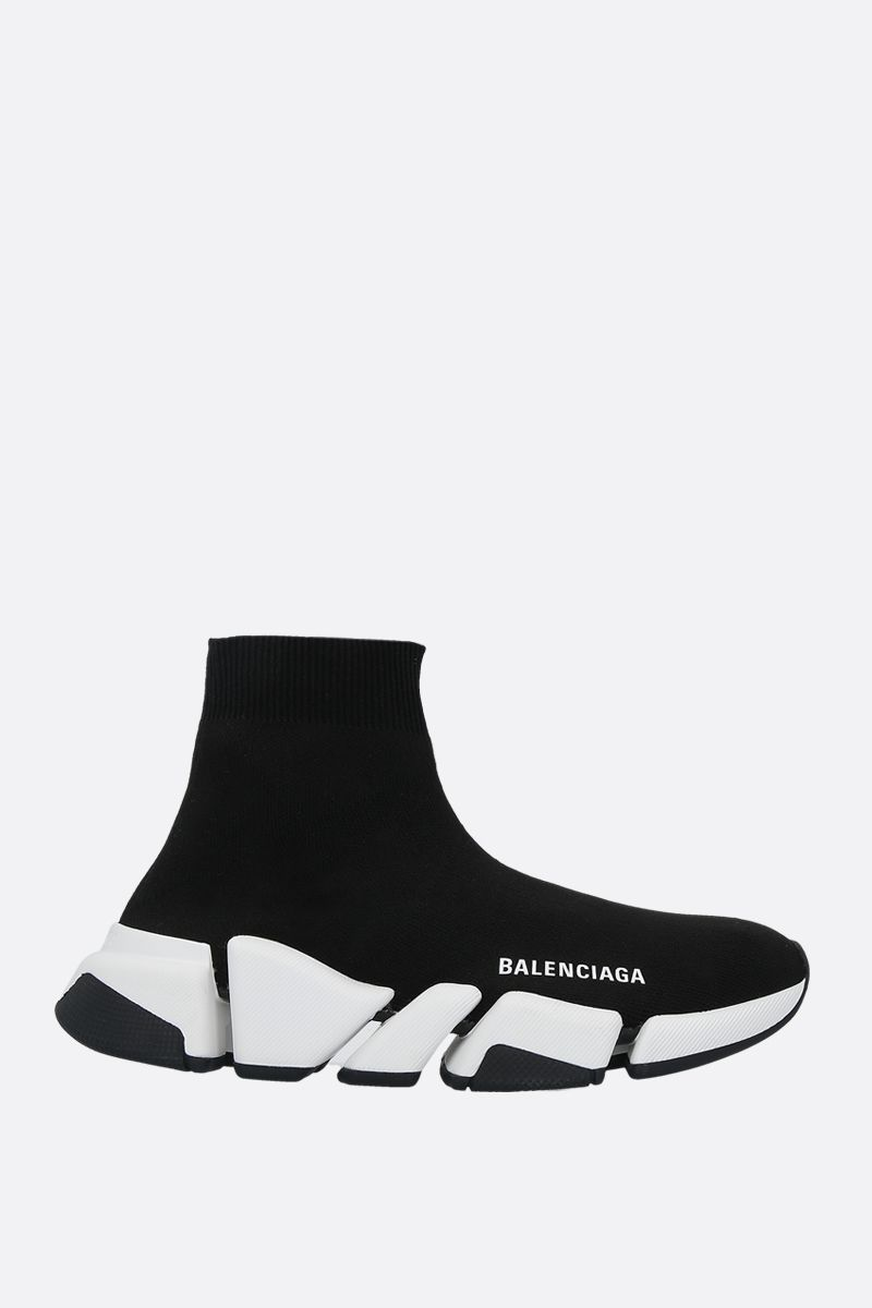 BALENCIAGA: Speed 2.0 stretch knit trainers Color Black_1