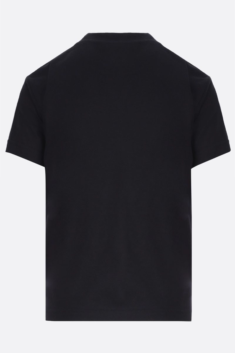 BALENCIAGA: Gym Wear cotton t-shirt Color Black_2