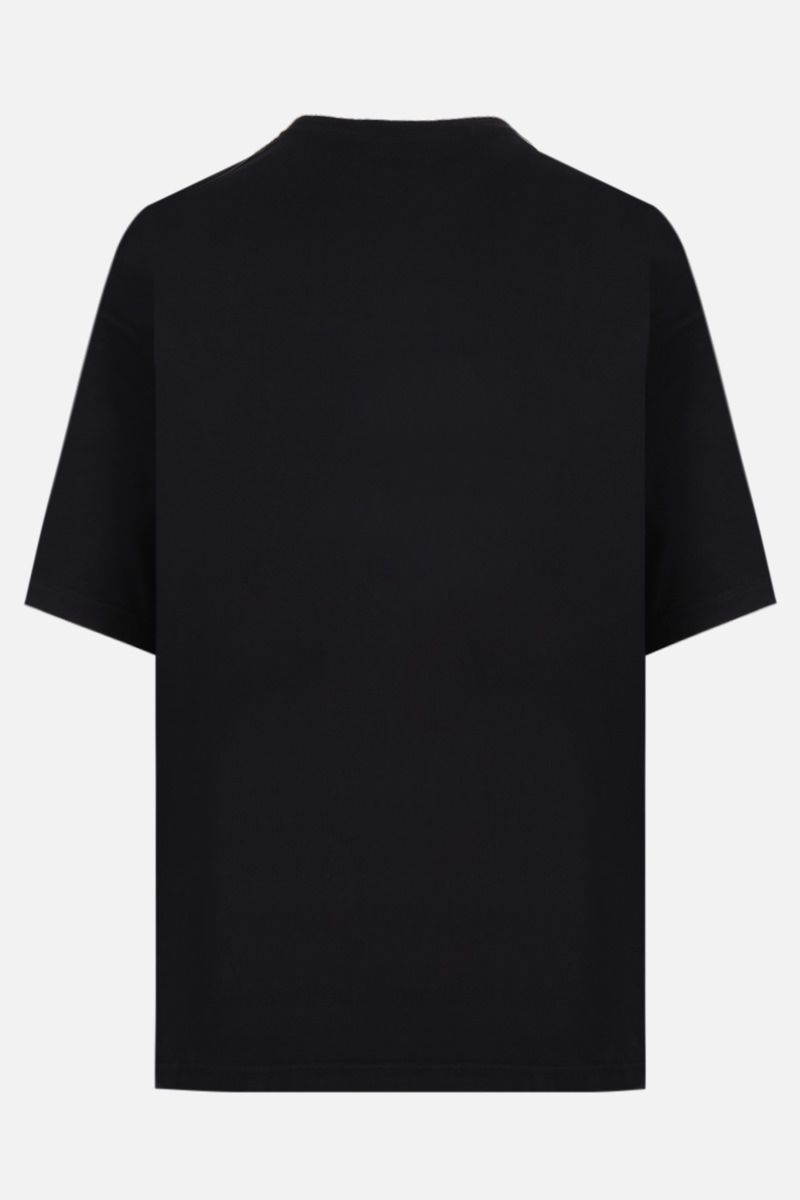 BALENCIAGA: Balenciaga Paris France print cotton t-shirt Color Black_2