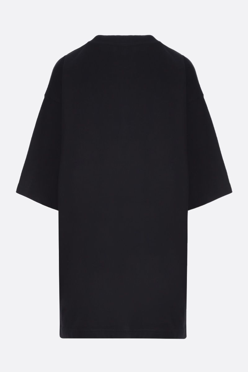 BALENCIAGA: Gym Wear cotton oversize t-shirt Color Black_2