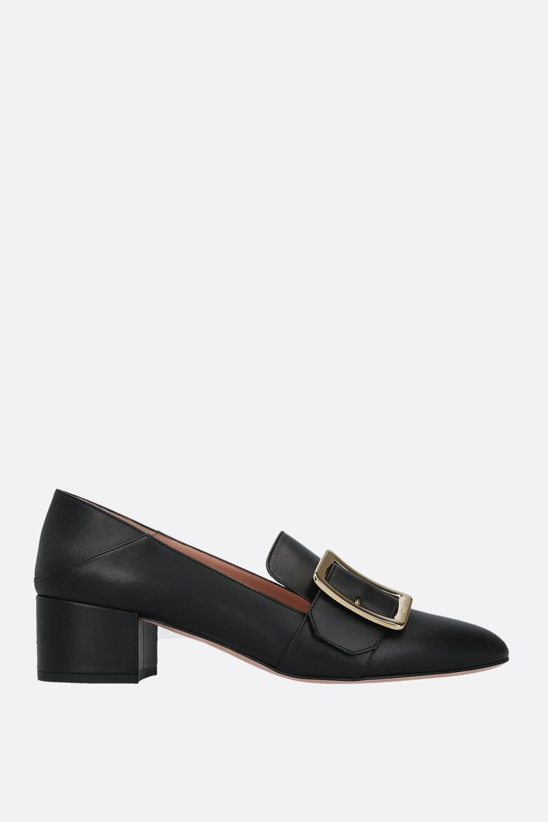 BALLY: Janelle smooth leather pumps Color Black_1