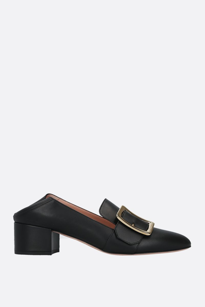 BALLY: Janelle smooth leather pumps Color Black_2