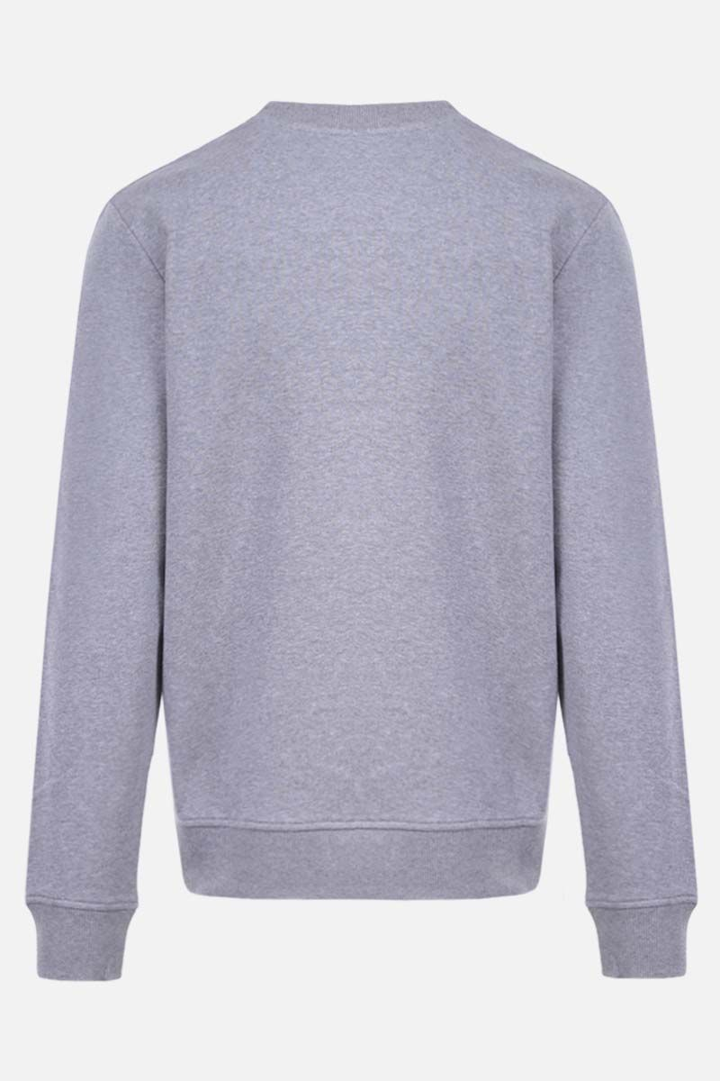 BALMAIN: Balmain Paris print cotton sweatshirt Color Grey_2