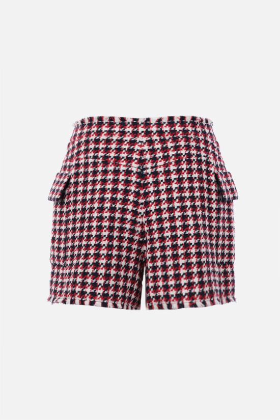BALMAIN: button-detailed tweed shorts_2