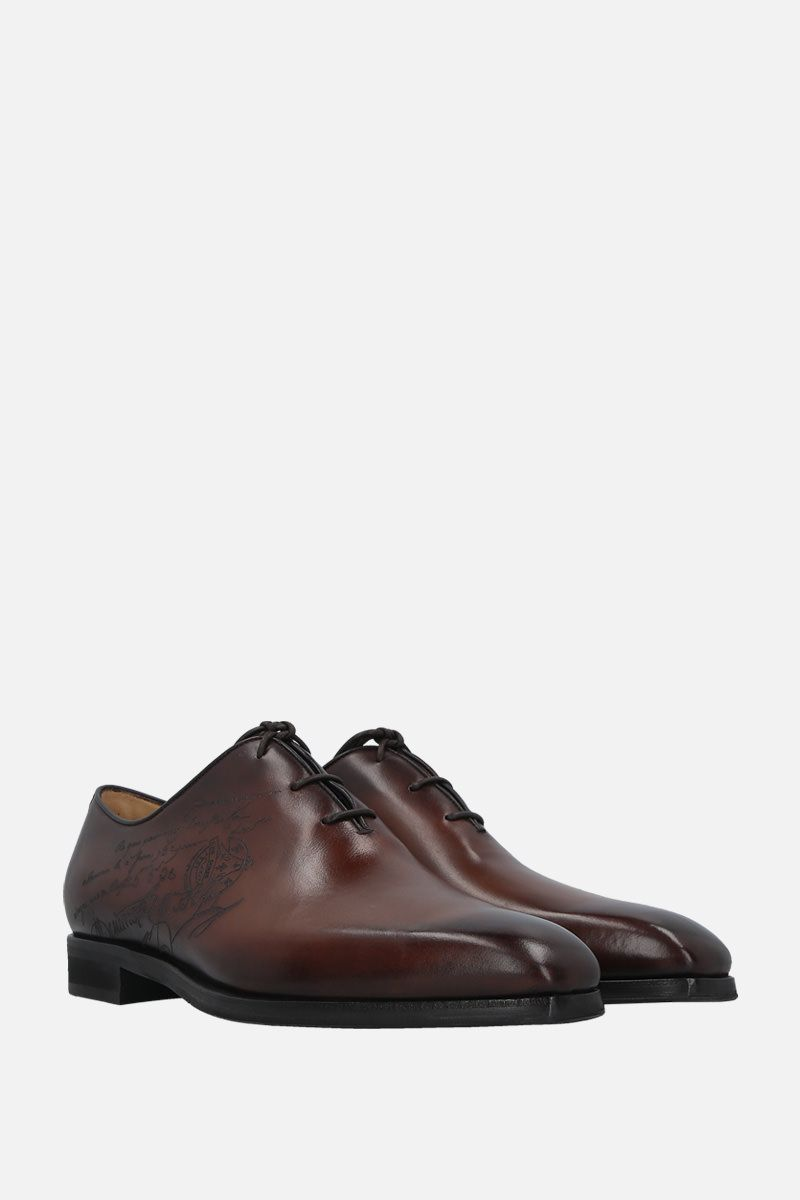 BERLUTI: Alessandro Infini oxford shoes in Scritto leather_2