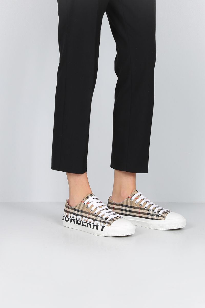 BURBERRY: Larkhall canvas sneakers_2
