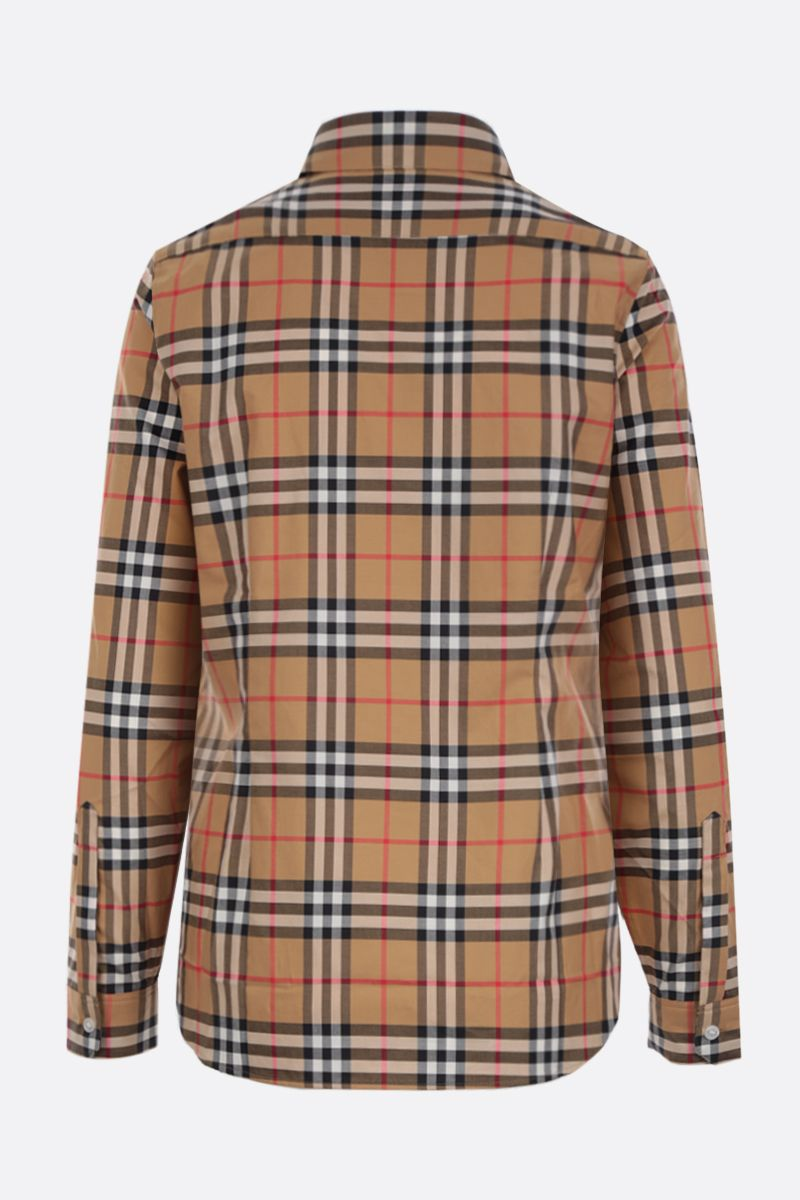 BURBERRY: Crow cotton shirt Color Yellow_2
