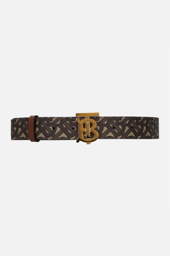 BURBERRY: TB coated canvas belt_1