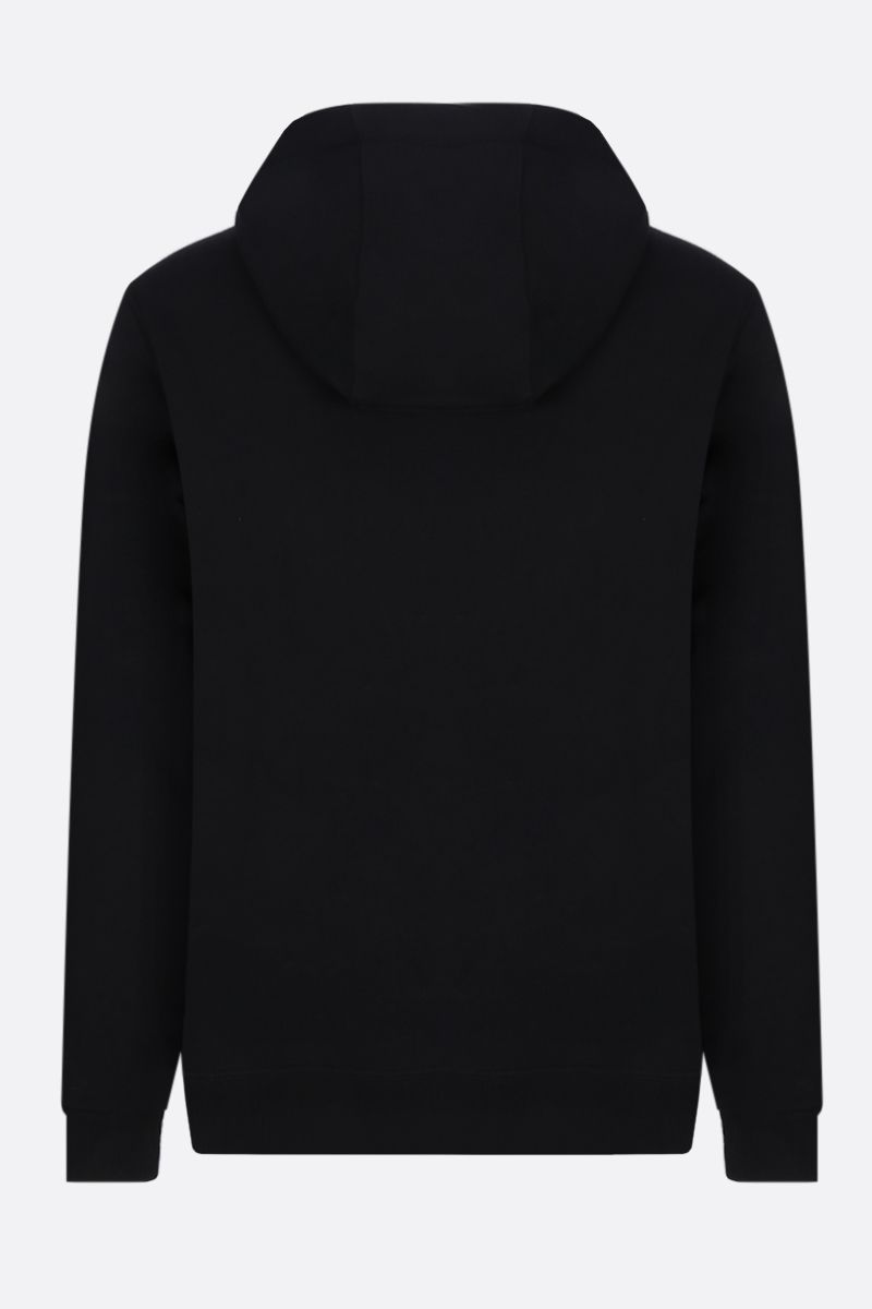 BURBERRY: Lexstone cotton hoodie Color Black_2