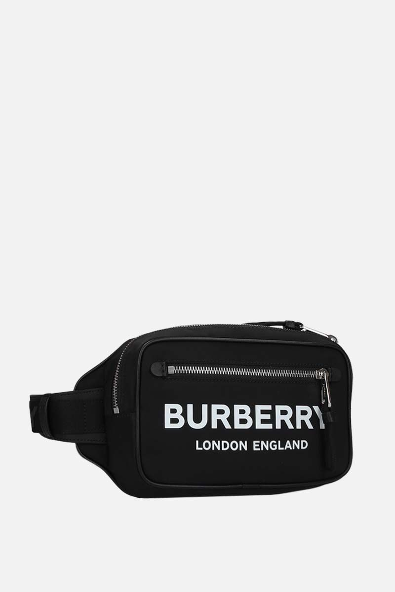 BURBERRY: marsupio West in ECONYL® Colore Nero_2