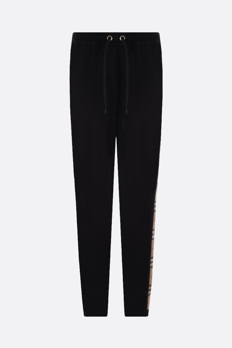 BURBERRY: Raine cotton joggers Color Black_1
